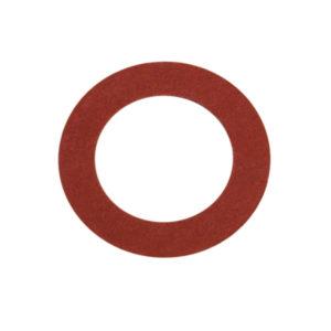 3/8IN X 3/4IN X 1/32IN RED FIBRE WASHER - 100PK