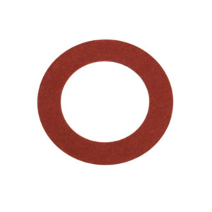 1/8IN X 5/16IN X 1/32IN RED FIBRE WASHER - 100PK