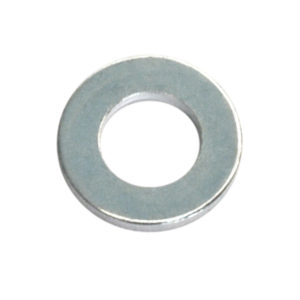 3/8IN X 3/4IN X 14G H/DUTY FLAT STEEL WASHER