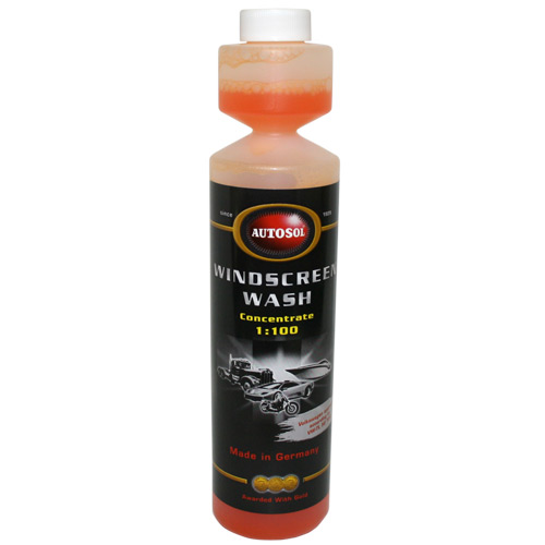 11005540 Autosol Windscreen Wash 250ml Bottle