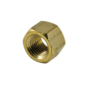 3/8IN UNF BRASS MANIFOLD NUT - 25PK