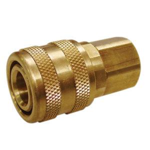 """A2511 Female Coupler Brass 3/8"""" BSP"""