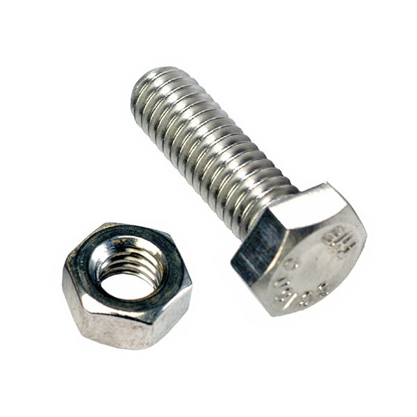 M12 X 35 X 1.5 SET SCREW & NUT (C) - GR8.8