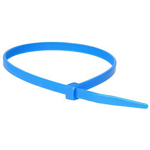 ISL 380 X 4.8MM NYLON CABLE TIE - BLUE - 100PK