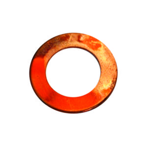 1/4IN X 9/16IN X 20G COPPER WASHER - 100PK