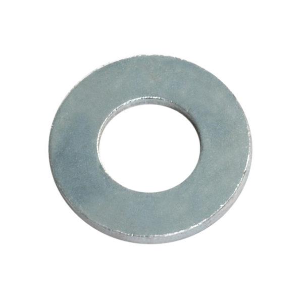 1/4IN X 9/16IN X 18G FLAT STEEL WASHER - 200PK