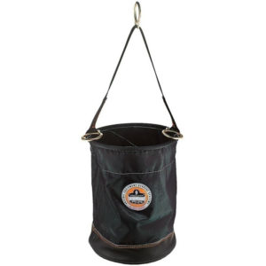 Ergodyne Leather Bottom Nylon Bucket w/ D-Rings 32x43cm 68kg
