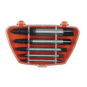 """HTEXS-C050 Screw Extractor Set 5pc (1/8"""" 1/4"""" 5/16"""" 7/16"""" 9/16"""")"""