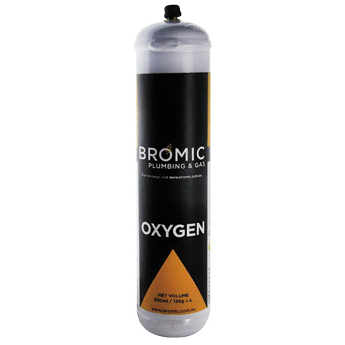 1811320 Oxygen Cylinder Tall Boy 136g (4.79oz)