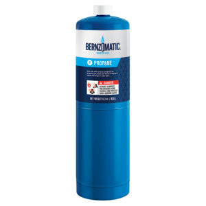 TX9 Gas Cylinder Propane Tall Boy 400g (14.1oz)