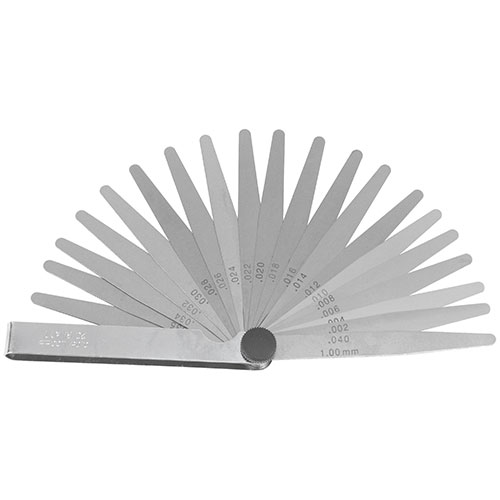 T71322 Feeler Gauge 20 Blade (0.05 - 1.00mm)