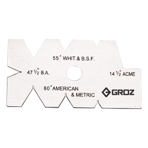 GROZ SCREW CUTTING GAUGE