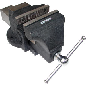 GROZ BV PROFESSIONAL BENCH VICE 4IN / 100MM