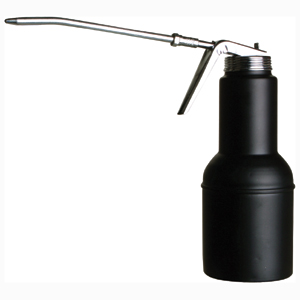 GROZ 500ML PISTOL GRIP OIL CAN - 150MM RIGID SPOUT