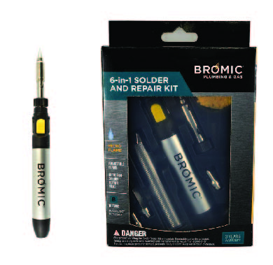 1811643 6-in-1 Butane Soldering Kit