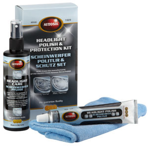 000008 Headlight Protection Care Kit 3pc