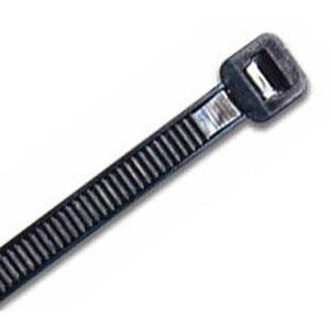 ISL 290 X 3.6MM UV NYLON CABLE TIE - BLK. - 100PK