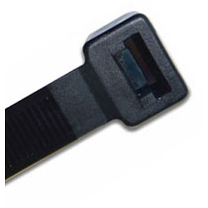 ISL 533 X 9.0MM UV NYLON CABLE TIE - BLK. - 100PK