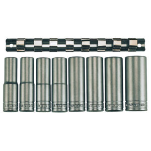 TENG 9PC 1/2IN DR. DEEP SOCKET SET 13-24MM 6PNT