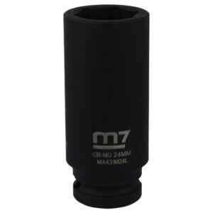 M7 Deep Impact Socket 1/2in Dr. 24mm