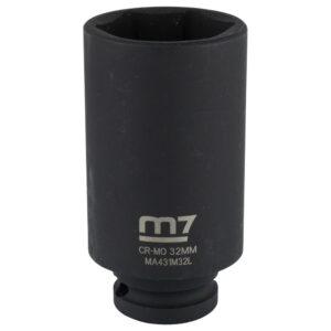 M7 Deep Impact Socket 1/2in Dr. 32mm