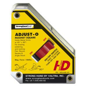 MSA48-HD Adjust-O Magnet Square 152 x 130 x 35mm 75kg