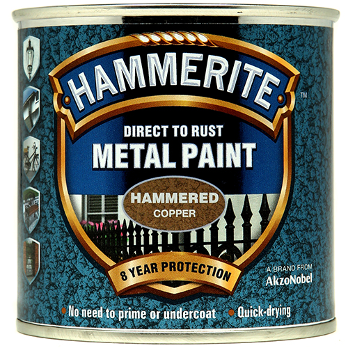 Hammerite Hammered 250ml Copper
