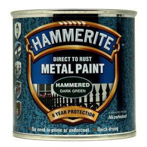 Hammerite Hammered 250ml Dark Green