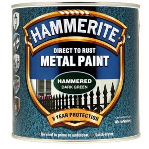 Hammerite Hammered 2.5litre Dark Green