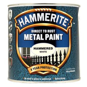 Hammerite Hammered 2.5litre White