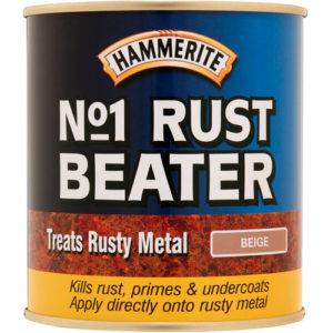 Hammerite #1 Rustbeater 400ml Aerosol Beige