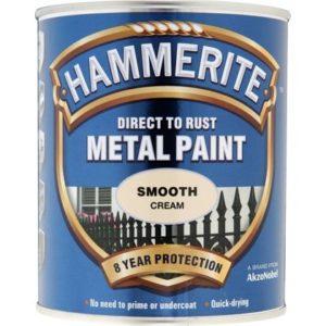 Hammerite Smooth 250ml Cream