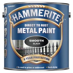 Hammerite Smooth 2.5litre Black