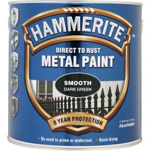 Hammerite Smooth 2.5litre Dark Green