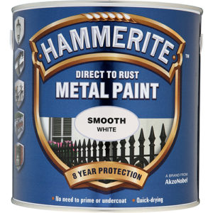 Hammerite Smooth 2.5litre White