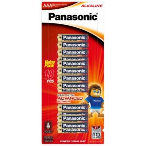 Panasonic AAA Battery Alkaline (18pk)