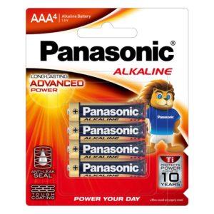 Panasonic AAA Battery Alkaline (4pk)