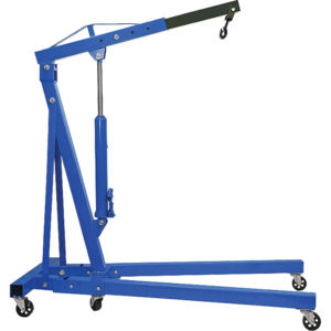 FOLDABLE ENGINE CRANE 2T (ANSI) / 1000KG (AS/NZS)