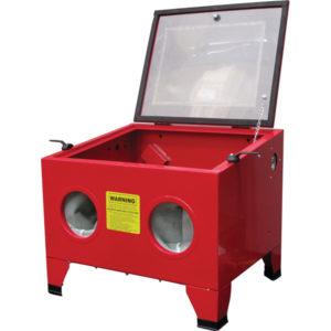 Bench Top Sand Blasting Cabinet - Top Door