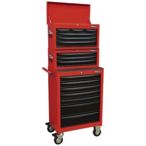 ProEquip 16-Drawer Tool Box Stacker Combination