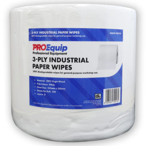 ProEquip 3-Ply Industrial Paper Wipes - 550 Sheets
