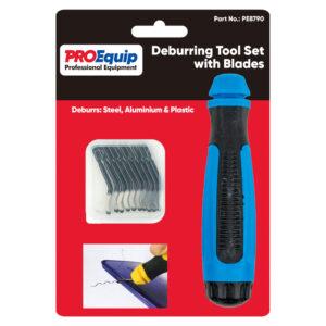 ProEquip Deburring Tool Set w/Blades