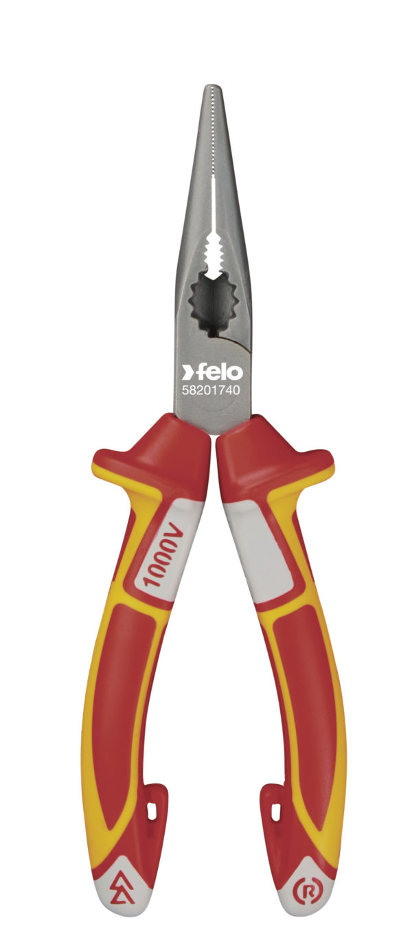 Chain Nose Radio Pliers VDE 170mm (Long Nose)