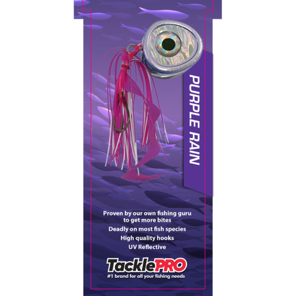 TacklePro Kabura Lure 80gm - Purple Rain