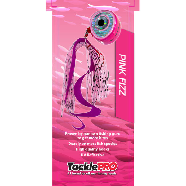 TacklePro Kabura Lure 60gm - Pink Fizz