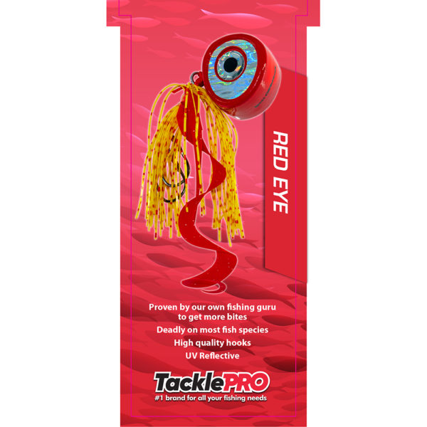 TacklePro Kabura Lure 100gm - Red Eye