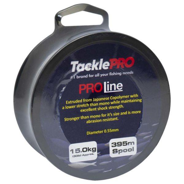 TacklePro ProLine 15.0kg/30lb - 395m Spool