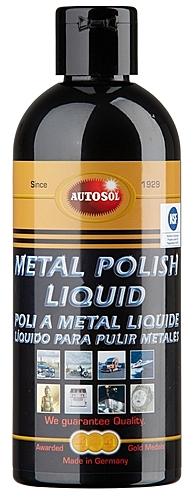 1210 Autosol Metal Polish Liquid (250ml Bottle)