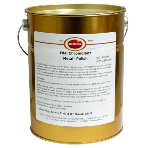 1140 Autosol Metal Polish 4kg Tub (3L)
