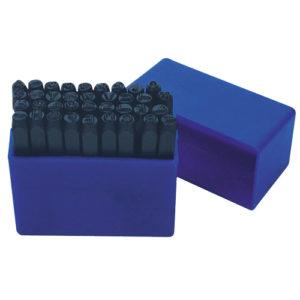 T73473 Letter Punch Set 4mm 27pc